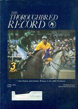 1984 Thoroughbred Record Magazine: Gate Dancer & Cordero Win Preakness