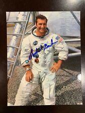 Astronaut Richard Dick Gordon Signed Autographed Nasa Apollo 12 Space 8x10 photo