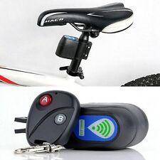 Serrure-Vélo-Cyclisme-Sécurité-Télécommande-Sans Fil-Vibration-Alarme-Anti-vol