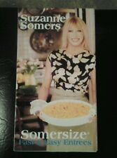 2 VHS Fast & Easy Somersize Desserts Entrees Somers Recipes Cookbook Recipe