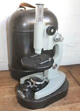 Vintage MBU-4 GOST 8284-67 Microscope Made in USSR Russian 56-300x