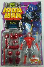ACTION FIGURE - IRON MAN - HOLOGRAM ARMOR - MARVEL COMICS - 1996