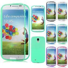 Custodia WALLET Flip Cover Fronte TRASPARENTE per Samsung Galaxy S5 I9600 NUOVA