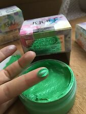 Nabi Temporary Hair Color Gel Wax Mud Colorants 75g Non-stick Punk Apple Green