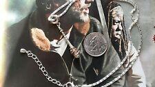 Walking Dead Lucille Baseball Bat Barbed Wire Negan Kill Pee Pee Pants Necklace