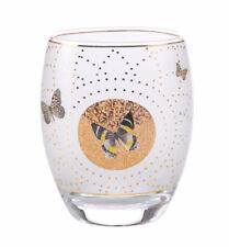 Joanna Charlotte Windlicht Weiße Schmetterlinge Teelicht White Butterfly Goebel