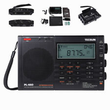 TECSUN PL660 SW SSB Air Band PLL Dual Weltempfänger World Receiver Tragbar Radio