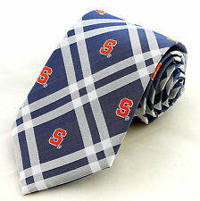Syracuse Orange 'Cuse Mens Necktie College University Logo Rhodes Neck Tie New