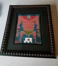 Amanda visell Cyclops original painting
