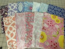 Dena Designs Isabelle & Meadow Fabric Fat Quarter Bundle Blue Pink Violet