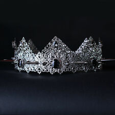 Spiked Crown Adults Metal Medieval Renaissance Spiked Headpiece Hat Costume