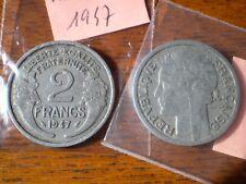 PIECE DE 2 FRANC 1947  MORLON en  ALUMINIUM