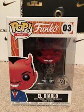 Funko POP! Spastik Plastik El Diablo In Silver Suit RARE NO FUNKO STICKER Icon