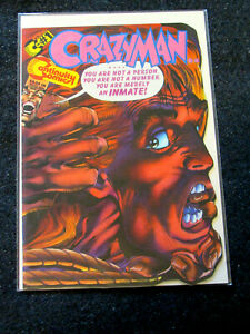 Crazyman #1 (Continuity Comics 1993)