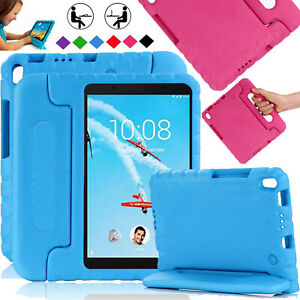 Kids Case for Lenovo Tab 4 8,10 Plus EVA Shockproof Handle Stand Tough Cover