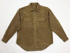 Gh bass camicia velluto a coste camicie shirt uomo usato M vintage marrone  T4653 62f7c7c3616