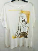 Junk Food Graphic Blondie Rock Image Camp Funtime Womens T Shirt 1X NWT