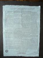 Grida Cisalpina Amministrazione Dipartimenti Municipio 1799 Napoleone Compiti
