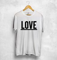 Love T Shirt Hubby Wifey Boyfriend Girlfriend Wedding Honeymoon Holiday Couple