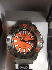 Seiko orange Baby Monster Diver-SPORT SRP483k1