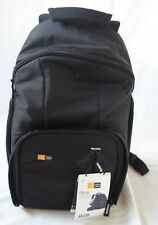 Case Logic TBC411 Backpack Bottom  for DSLR Camera  Top for Daily Items - Black