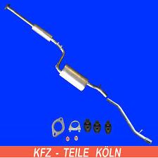 Mazda 3 (BK) 1.6  1.4 Bj. 2003-2009 Mittel + Endschalldämpfer Auspuffanlage +Set