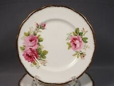 Royal Albert American Beauty Luncheon Salad Plate(s) Bone China England