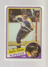 1984-85 Topps #69 Charlie Simmer card, Los Angeles Kings star