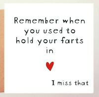 FUNNY VALENTINES CARD/ NAUGHTY / CHEEKY/ OFFENSIVE / RUDE /HUMOUR BANTER  - HFI