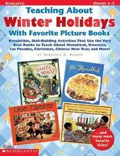 TEACHING ABOUT WINTER HOLIDAYS WITH FAVORITE PICTURE BOOKS - RHODES, IMMACULA A.