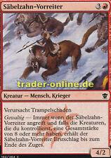 4x Säbelzahn-Vorreiter (Sabertooth Outrider) Dragons of Tarkir Magic