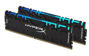 16GB Kingston HyperX Predator RGB DDR4 3200MHz Dual Memory Kit (2 x 8GB)