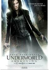 "UNDERWORLD AWAKENING 27""x40"" D/S Original Movie Poster One Sheet Kate Beckinsale"