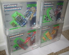 Transformers G1 Micromaster Transports AFA 80 MOSC Full Set of 4 Overload Erecet