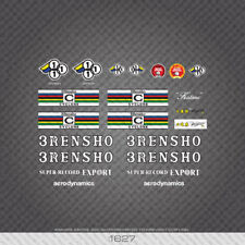 3Rensho Bicycle Stickers - Decals - Transfers - White - 01627