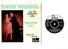 """""""DANCE"""".TOMMY KINSMAN ORCH.QUICKSTEPS VOL.3.UK ORIG 7"""" EP.EX-"""