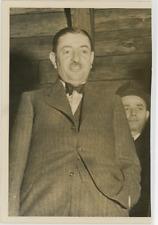 Dragiša Cvetković  Vintage silver Print,homme politique serbe, Premier ministr