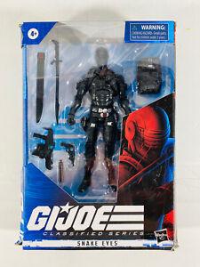 "Hasbro G.I. Joe Classified Series Snake Eyes 6"" Action Figure 2020 New Wave 1"