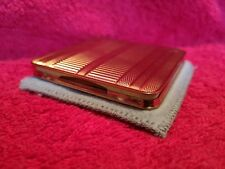 Vintage Cigarette Case By Mascot With Pouch