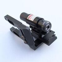 Reflex Red Dot Laser Sight W/ Scope Mount Bracket Kit For Archery Compund Bow