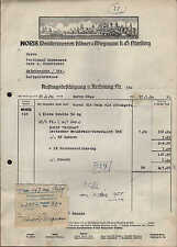 "NÜRNBERG, Rechnung 1950, ""NORIS""-Wein-Brennereien Klöwer & Wiegmann K.G."
