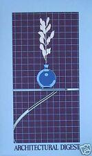 PATRICK NAGEL: ARCHITECTURAL DIGEST 1982, MINT, OFFICIAL NAGEL ESTATE SITE