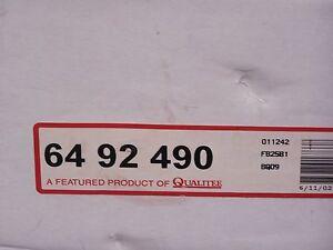Qualitee R92490 Front Disc Brake Rotor fits Ford E250 E350 Van 3/4 Ton 1 Ton