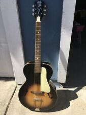Old Kraftsman Vintage Archtop Guitar Made In The USA By Kay