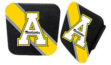 APPALACHIAN STATE MOUNTAINEERS RUBBER TRAILER HITCH COVER-APP STATE HITCH COVER