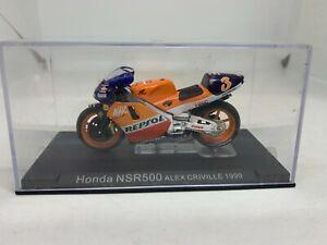 IXO 1:24 Moto GP Motorcycle Honda NSR500 Alex Criville 1999