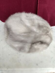 Bamberger's New Jersey,Fur Hat Authentic Real gray color Fur