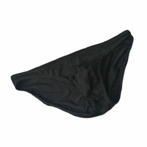 Men's Sexy Low Waist Smooth Ice Silk Underwear Briefs Bikini Underpants M L 2XL