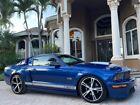 2008 Ford Mustang Shelby GT 2008 Ford Mustang Shelby GT 12560 Miles Vista Blue Clearcoat Metallic 2dr Car Ga