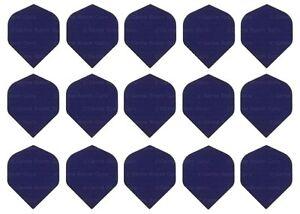 5 New Sets Rip Stop Nylon Fabric Standard Dart Flights - Ships w Tracking - Blue
